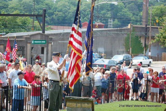 Wissahickon War Memorial, Memorial Day