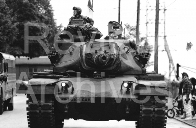 Wissahickon War Memorial, Memorial Day Parade, Tank
