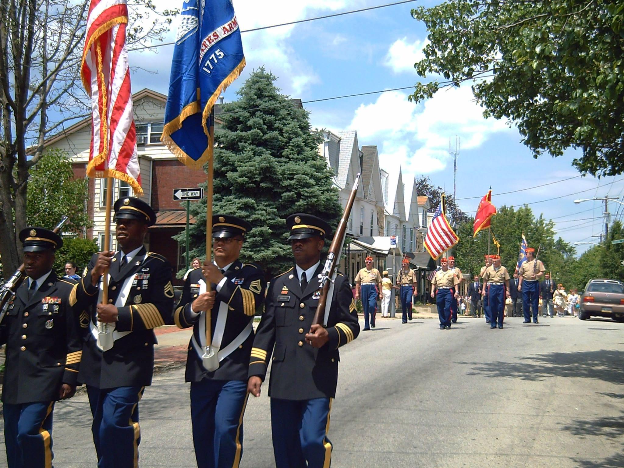 Wissahickon War Memorial, Memorial Day Parade