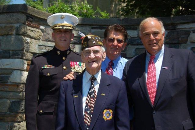 Wissahickon War Memorial, Phil Moyer, Ed Rendell